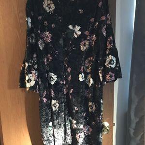 NWT Chico's velvet dress